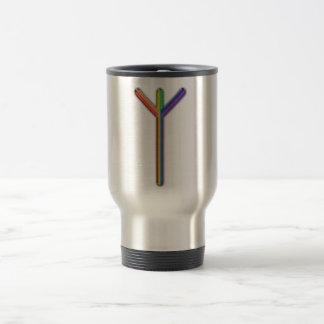 Elder Futhark Rune Algiz Coffee Mug