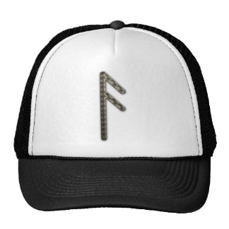Elder Futhark Rune Asa Trucker Hats
