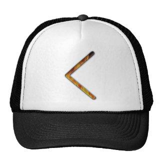 Elder Futhark Rune Cen Mesh Hat