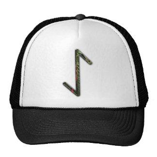 Elder Futhark Rune Eoh Mesh Hats