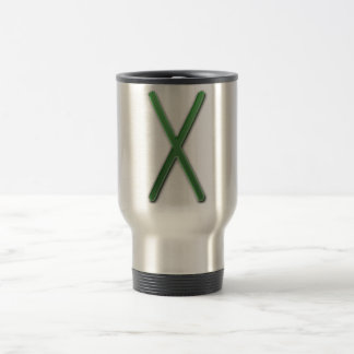 Elder Futhark Rune Gyfu Coffee Mugs