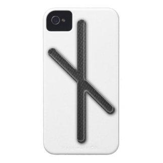 Elder Futhark Rune Nyd Case-Mate iPhone 4 Cases