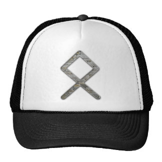 Elder Futhark Rune Odal Trucker Hats