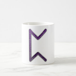 Elder Futhark Rune Peorth Basic White Mug