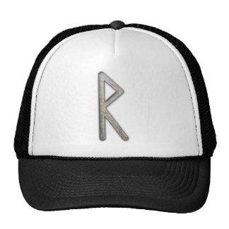 Elder Futhark Rune Rad Mesh Hats