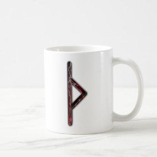 Elder Futhark Rune Thorn Basic White Mug