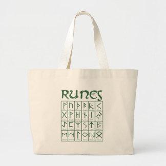 Elder Futhark Runes Tote Bags