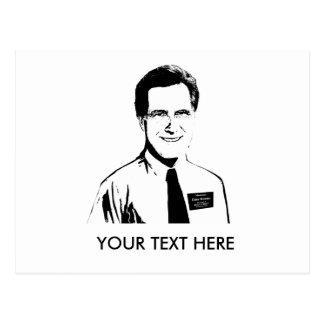 Elder Mitt Romney Postcard
