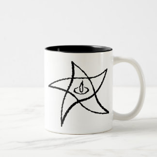 Elder Sign Two-Tone Coffee Mug