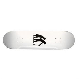 Elderly Couple Skate Board Deck
