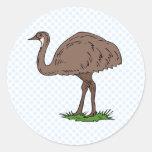 Eldon Emu Sticker