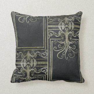 Eldrich Pillow Gold & Black