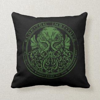 Eldritch Institute Throw Pillow