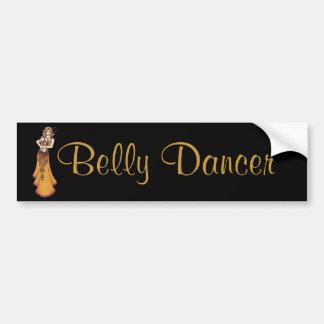 Eleanor Belly Dancer Sticker Bumper Sticker