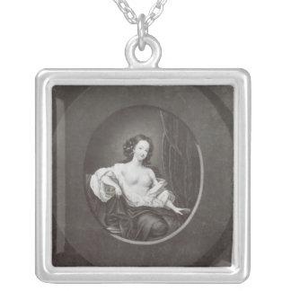 Eleanor  Gwynne Silver Plated Necklace