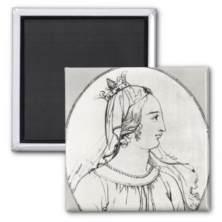 Eleanor of Aquitaine Magnet
