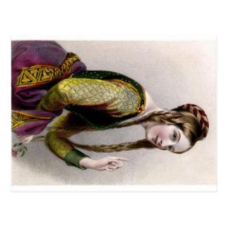 Eleanor of Aquitaine Postcard