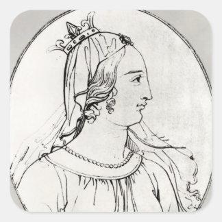 Eleanor of Aquitaine Square Sticker