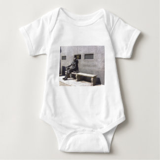 Eleanor Rigby Statue, Liverpool UK Baby Bodysuit