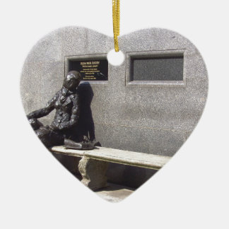 Eleanor Rigby Statue, Liverpool UK Christmas Ornament