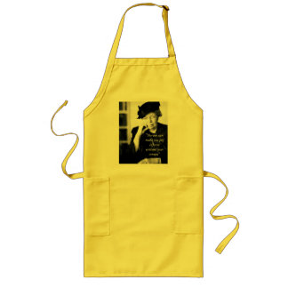 Eleanor Roosevelt - No-one can make you feel... Long Apron