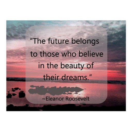 Eleanor Roosevelt Quote Postcards