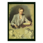 Eleanor Roosevelt White House portrait Greeting Cards