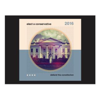 Elect A Conservative Postcard