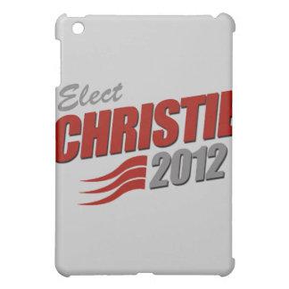 ELECT CHRIS CHRISTIE iPad MINI COVERS