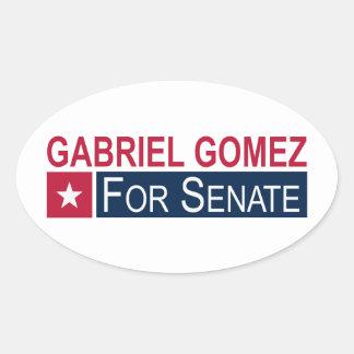 Elect Gabriel Gomez Oval Sticker