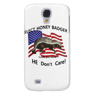 Elect Honey Badger Galaxy S4 Cover