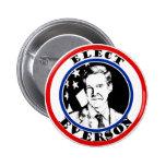 Elect Mark Everson 6 Cm Round Badge
