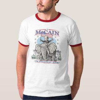 Elect McCain GOP Elephant 2008 T-Shirt