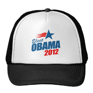 Elect Obama 2012 Cap