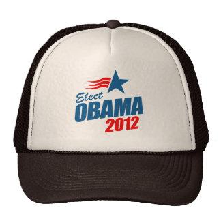 Elect Obama 2012 T-shirt Trucker Hat