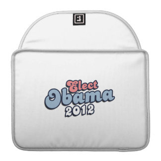 ELECT PRESIDENT OBAMA - png Sleeve For MacBooks