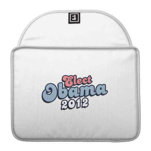 ELECT PRESIDENT OBAMA -.png Sleeve For MacBooks