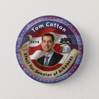 Elect Tom Cotton for Senator of Arkansas - 2014 6 Cm Round Badge