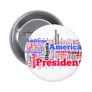 Election 2012 pinback buttons