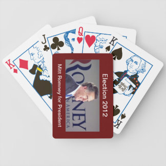 Election 2012 Mitt Romney Playing Cards