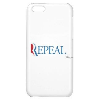 "Election 2012 ""Repeal"" Gear iPhone 5C Cover"