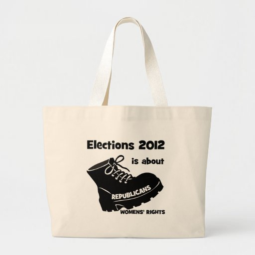 election 2012 women's rights bags