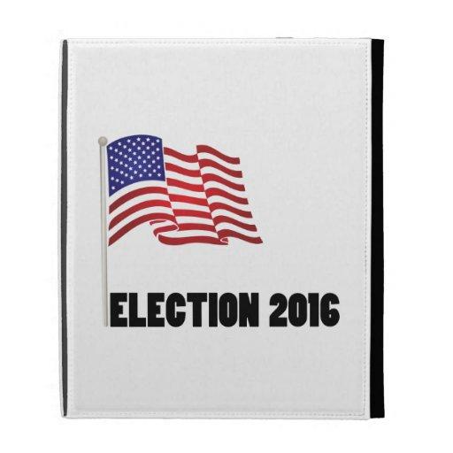 Election 2016 Flag iPad Folio Case