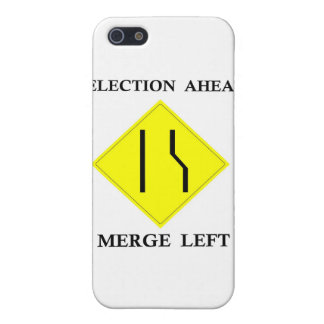 Election Ahead Merge Left iPhone 5 Covers