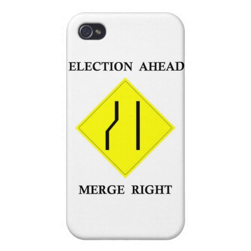Election Ahead Merge Right Cases For iPhone 4