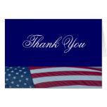 Election Campaign American Flag Patriotic Card