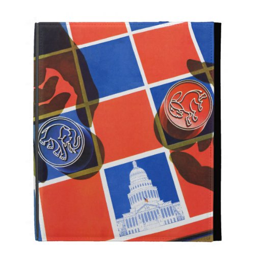 Election Checkerboard iPad Cases