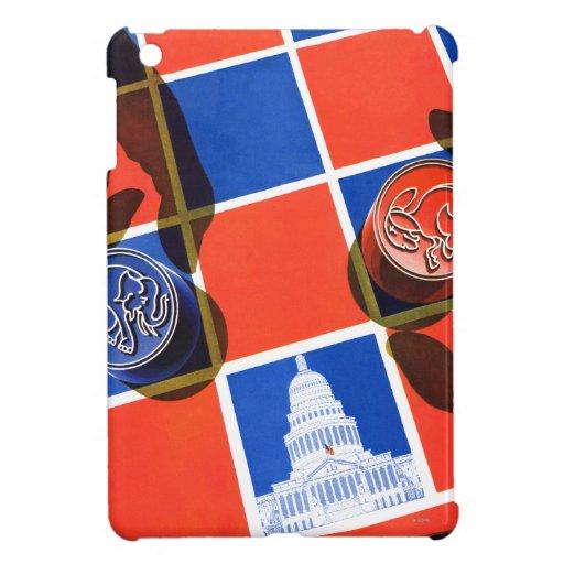Election Checkerboard Cover For The iPad Mini