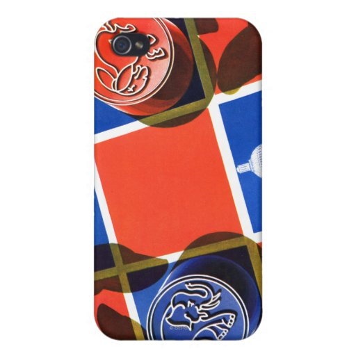 Election Checkerboard iPhone 4 Case