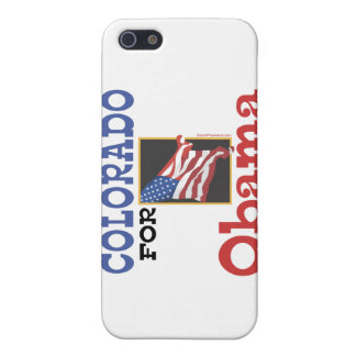 Election Colorado for Obama iPhone 5/5S Cases